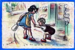 """ILLUSTRATEUR GERMAINE BOURET """"JE TE DIS QU' ON LES DONNE ICI LES SUCETTES"""" EDITION M.S. PARIS - Bouret, Germaine"""