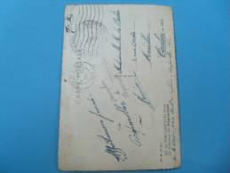 1941 Marine Nationale Semaphore De Porquerolles Var  Franchise Militaire Guerre 14.18 Sur Carte - 2. Weltkrieg 1939-1945