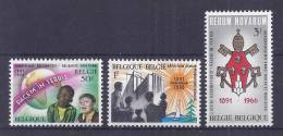 Belgie Postfris Frais Poste YT** 1360-1362 - Ongebruikt