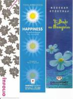 - 3 MARQUE-PAGES - FLEURS - - Marque-Pages