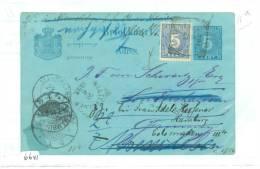 NEDERLANDS-INDIE * BESCHREVEN BRIEFKAART Uit 1895 Van SOERABAJA Naar SONDERSHAUSEN > ALVENSLEBEN > HAMBURG DLD (6641) - Netherlands Indies