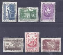 Belgie LP YT* 30-35 - Poste Aérienne