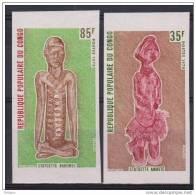 CONGO   NON DENT/IMP  SCULPTURE  YVERT N°484/5 **MNH   Réf 2748 - Beeldhouwkunst