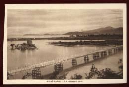 Cpa Du  Viet Nam  Nhatrang Le Nouveau Pont      éditeur Nadal  Saïgon      EUG11 - Vietnam
