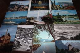 SUISSE HELVETIA   Lot De 40 CPM Cartes Postales Modernes - Cartes Postales