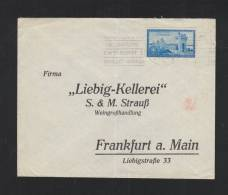 Romania Cover To Frankfurt - 1918-1948 Ferdinand, Charles II & Michael