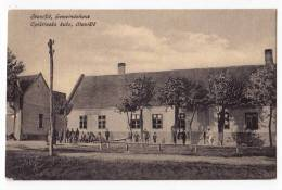 EUROPE SERBIA STANISIC THE MUNICIPAL HOUSE OLD POSTCARD - Serbia