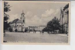 BÖHMEN & MÄHREN, REICHENBERG, LUNDENBURG / BRECLAV, Adolf Hitlerplatz - Sudeten