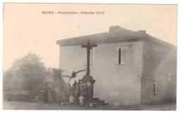 Cpa Du 31 -MANE- Presbytère -Octobre 1922 - Otros Municipios