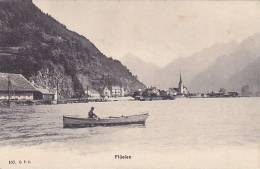 CH - Flüelen (rare, Barque, Animée) - UR Uri