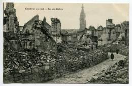 V2/ - 59 - Cambrai En 1919 : Rue Des Liniers - Cambrai