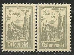 Österreich Austria Propaganda Vignette Cinderella Ich Glaube An Österreich Ca 1920 - Österreich
