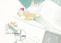 Liechtenstein - MK 249 - 21 - 11 - 2005 - Olympische Winterspielen 2006, Turin - MIchel 1394 - 1396 - Maximumkarten (MC)
