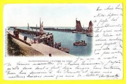 * Blankenberge - Blankenberghe (Kust) * (Mumm & Zaum Bruxelles) L'entrée Du Port, Harbour, Haven, Quai, Bateau, CPA - Blankenberge