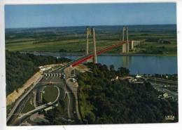 Tancarville - Le Pont - Vue Aérienne - Le Péage Le Canal - Tancarville