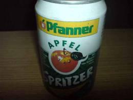 Lemonade Pfanner Apfel, With Apple, 0,33l, Austria - Cannettes