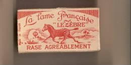 Le Zébre/Lame Française/5 Lames/Acier Extra Fin//vers 1930-1950     PARF38 - Lames De Rasoir