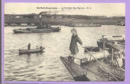 91 - CORBEIL-ESSONNES  - Le Port Des Bas Vingerons - Animée - Reproduction - Corbeil Essonnes