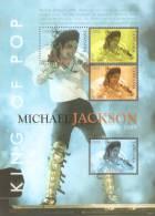 tan0908sh Tanzania 2009 King of POP Michael Jackson s/s