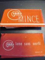Gibbs/Mince/2 Lames /Lame Sans Morfil/vers 1950     PARF47 - Lames De Rasoir