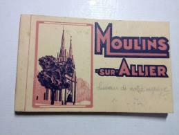 Carnet 20 CPA -MOULINS SUR ALLIER - Moulins