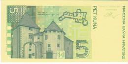 CROATIA  --  5 KUNA  -  PROBE DRUCK  -  UNC - Kroatien