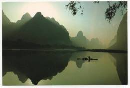 - CHINE. - Langshi In Morning - Scan Verso - - Chine