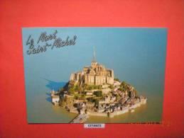 MANCHE (50) LE MONT ST MICHEL  (A Voyagée) TBE - Le Mont Saint Michel