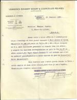 COURCELLES  VERRERRIES BENNERT BIVORT & COURCELLES REUNIES  Verres A Vitres  .......19.10.1925 - Belgique