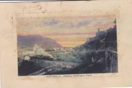 VENTIMIGLIA -  TRENO FERROVIA VENTIMIGLIA-PARIGI VG1928 BELLA FOTO D´EPOCA ORIGINALE 100% - Imperia