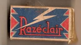 Razéclair/ Etui De Lames De Rasoir/ Fabrication Française/Acier Supérieur /vers 1930-50  PARF44 - Razor Blades