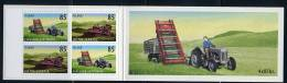Islande ** Carnet N° C1122 - Instruments Agricoles Anciens (tracteur, Faucheuse, Bulldozer - Non Classificati