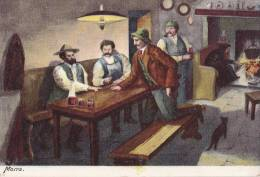 CARTE EN PROVENANCE DE BAD ISCHL  MORRA INTERIEUR CAFE - Austria