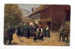 Artist HOFFMAN, Spreewald Townview, 00-10s - Burg (Spreewald)