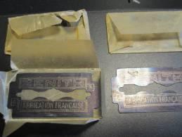 Zénith/4  Lames /Fabrication Française/vers 1945-55   PARF49 - Scheermesjes