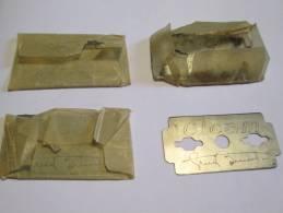 CICAM/ Avec Signature/4  Lames //vers 1945-55   PARF50 - Razor Blades
