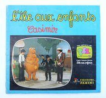 RARE ALBUM PANINI 1977 CASIMIR - L'�LE AUX ENFANTS Complet