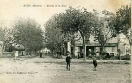 AGDE  AVENUE DE LA GARE - Agde