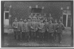 LIBRAMONT CARTE PHOTO Unteroffizier Kasino 1918 - Libramont-Chevigny