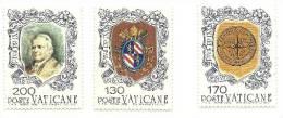 1978 - Vaticano 635/37 Pio IX - Celebrità