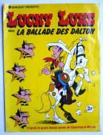 RARE ALBUM DARGAUD 1978 LUCKY LUKE LA BALLADE DES DALTON  incomplet (2) - pas Panini