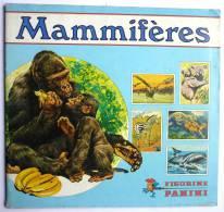 RARE ALBUM PANINI 1976 MAMMIFERES incomplet