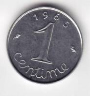 @Y@    Frankrijk 1 Centime  1965        (C524) - Frankrijk
