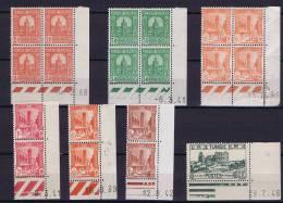 Tunesie:  Collections Coin Dates - Tunisie (1888-1955)