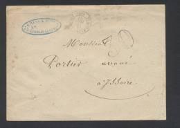 PUY DE DOME ST GERMAIN LEMBRON Type 15 Du 13 Mai 1862 + Taxe 30 DT  Pour ISSOIRE TB - Storia Postale