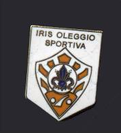 Pq1 Iris Oleggio Sportiva Varese Distintivi FootBall Sport Pin - Calcio