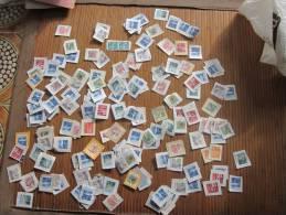 Vrac Postage Stamps Used Lot Timbres Oblitérés Sur Fragments De Suisse, Helvetia - Timbres