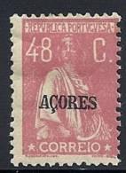 130100410  AZOR C.P.  YVERT   Nº  210   *  MH - Açores