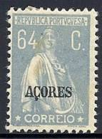 130100411  AZOR C.P.  YVERT   Nº  211   *  MH - Açores
