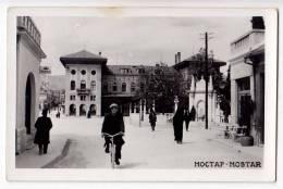 EUROPE BOSNIA MOSTAR CITY AREA THE MONUMENT OLD POSTCARD 1940. - Bosnia And Herzegovina